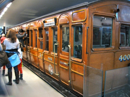 In the London Transport Museum