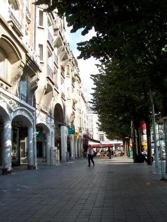 City center, Reims
