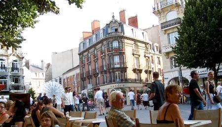 The Place d'Erlon in Reims