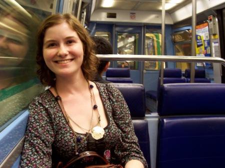 The Paris metro. August 2008