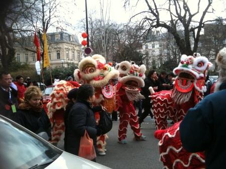 The Chinese New Year, Paris. Feb 2010