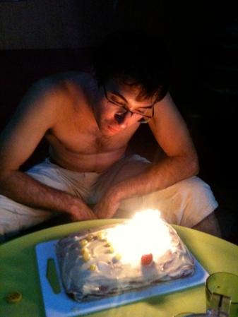 J's birthday. August 2011
