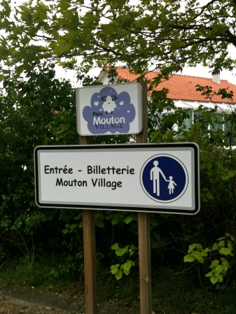 Visiting Mouton Village. May 2012