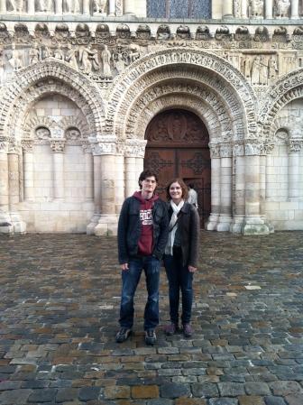 Notre Dame, Poitiers. Nov 2012