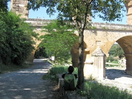 The Pont du Gard. June 2011