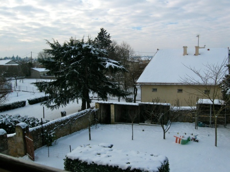 Snow in Poitiers. Feb 2012
