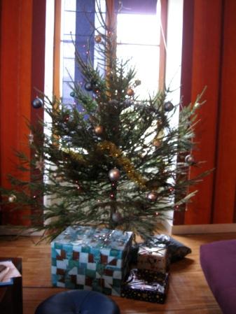 A Christmas tree! Dec 2012