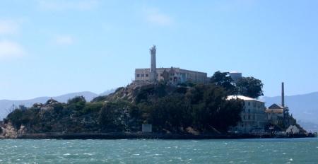 Alcatraz from the boat