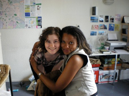 In my apartment. June 2008
