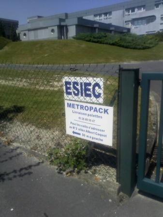 The ESIEC building