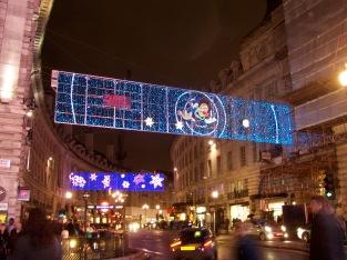 Regent Street at Christmastime