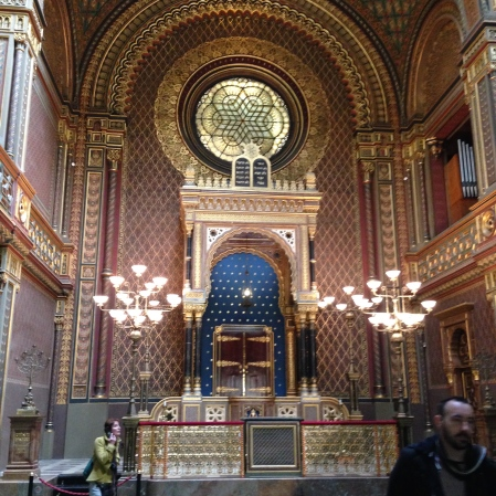 The Spanish Synagogue in the Jewish quarter